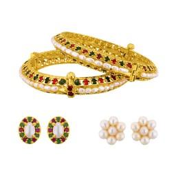 Multi-colour pearl Combo