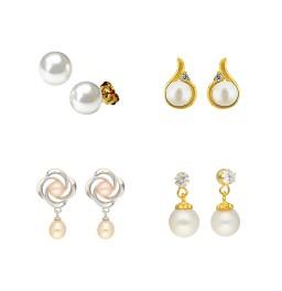 Set of 4 Earring Combo