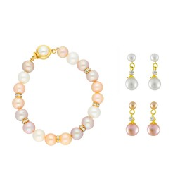 Set of 2 Earring with Bracelet...
