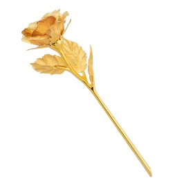 24kt Gold Plated Rose