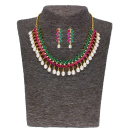 Twinkle Pearl Necklace