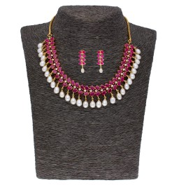 Blazing Pearl Necklace