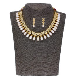 Blossam Pearl Necklace