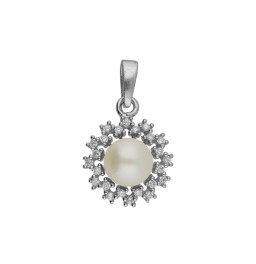 92.5 Silver Sizzling White Pearl...