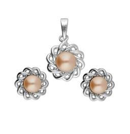 Lavina 92.5 Silver Pearl Pendant...