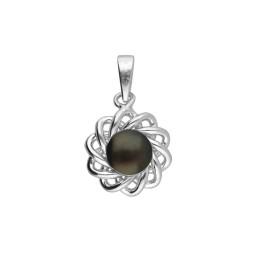 92.5 Silver Stunning Pearl Pendant