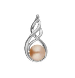 92.5 Silver Sleek Pink Pearl...