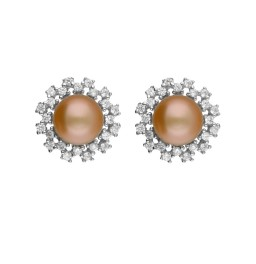 92.5 Silver Charming Pink Pearl...