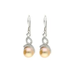 92.5 Silver Grabbing Pink Pearl...