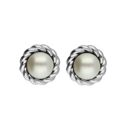 92.5 Silver Freshwater Pearl...