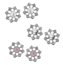 combo of 3 pairs Flower shining...