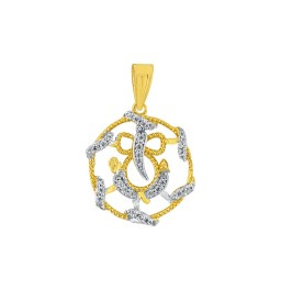 Omkara Diamond Pendant