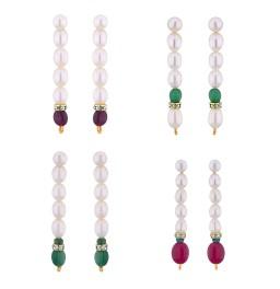 Vanilla Fashion Pearl Earrings...