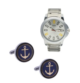 Special Cufflinks With Watch For...