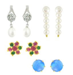 Pearl Earrings Collections