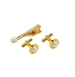 Gold Plated Cufflinks For Mens