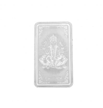 10 Gram Bar Ganesh Silver Coin