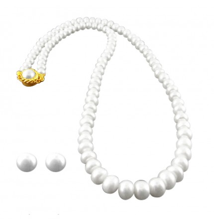 88b7d1db81a90 Buy the Best Single Line Pearl Set At Sri Jagdamba Pearls