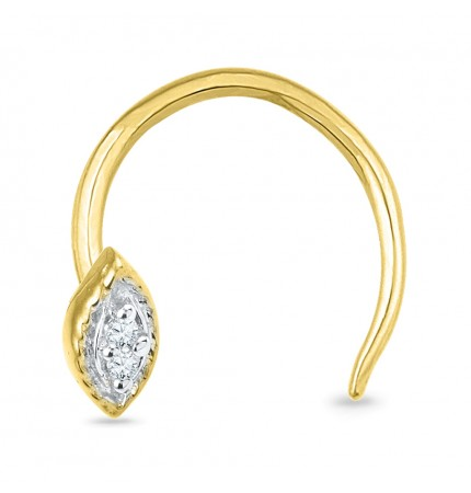 Buy The Best 18kt Gold Nose Pin Online At Best Price In India